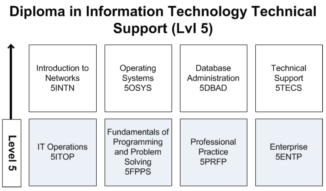 Diploma in Information Technology Technical Support Level 5